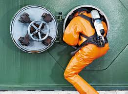 enter work confined space entry