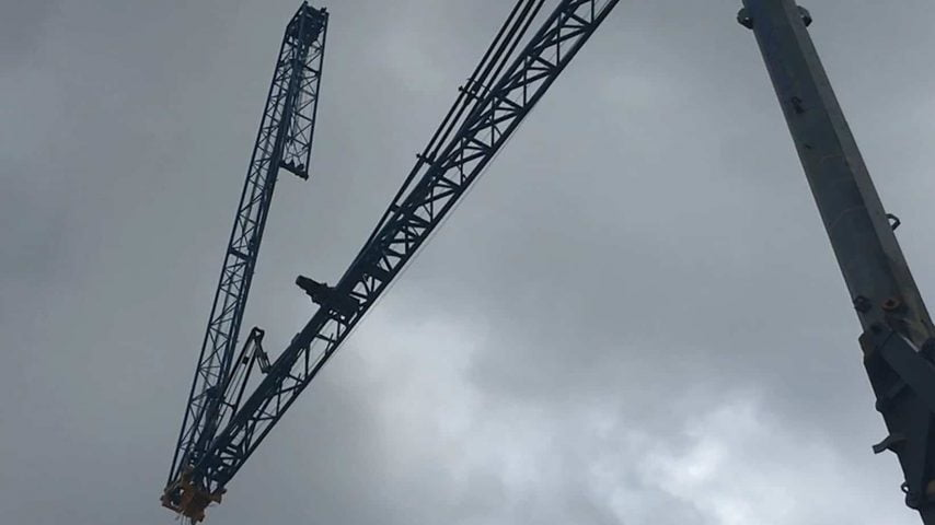 'JESSIE' - 4T Self Erecting Tower Crane | Potain HD40